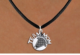 "<br>    LACROSSE NECKLACE WHOLESALE <bR>                   EXCLUSIVELY OURS!! <BR>              AN ALLAN ROBIN DESIGN!! <BR>     CLICK HERE TO SEE 1000+ EXCITING <BR>           CHANGES THAT YOU CAN MAKE! <BR>        CADMIUM, LEAD & NICKEL FREE!! <BR>       W1483SN - DETAILED SILVER TONE <BR> ""TEAM MOM"" LACROSSE CHARM & NECKLACE <BR>             FROM $4.85 TO $8.30 �2013"