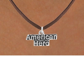 <BR>            LEAD AND NICKEL FREE!  <BR>             ASSEMBLED IN THE USA<BR>  CLICK HERE TO SEE 500+ EXCITING<BR>   CHANGES THAT YOU CAN MAKE!<BR>          W813SN - AMERICAN HERO<Br>    NECKLACE FROM $4.50 TO $8.35