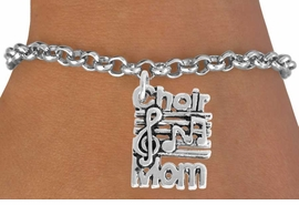 <BR>                   LEAD AND NICKEL FREE!  <BR>                   ASSEMBLED IN THE USA<BR>         CLICK HERE TO SEE 500+ EXCITING<BR>             CHANGES THAT YOU CAN MAKE!<BR>             W815SB - CHOIR MOM CHARM <Br>           & BRACELET FROM $4.50 TO $8.35