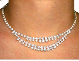 <BR>          LEAD AND NICKEL FREE!!<BR>  S530NE-GENUINE SWAROVSKI<BR> CRYSTAL NECKLACE & EARRING<BR>     SET FROM $29.25 TO $54.00