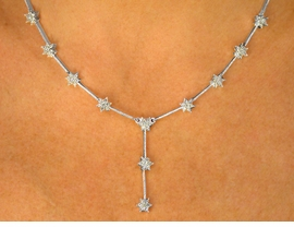 <BR>                   LEAD AND NICKEL FREE!!<BR> W9350NE - GENUINE AUSTRIAN CRYSTAL<Br>        SILVER TONE PLATED NECKLACE &<BR>        HYPOALLERGENIC TITANIUM POST<Br>       EARRINGS FROM $32.50 TO $60.00