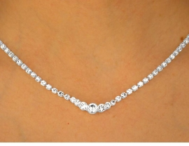 <BR>                  LEAD AND NICKEL FREE!!<Br>W9706NE - GENUINE AUSTRIAN CRYSTAL<br>         NECKLACE & EARRING SET FROM<Br>                          $16.25 TO $30.00