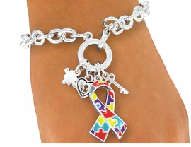 <bR>            LEAD, NICKEL, & CADMIUM FREE!!<br>               W3969B - AUTISM AWARENESS<bR>               BRACELET FROM $3.94 TO $8.75<BR>                                     ©2004