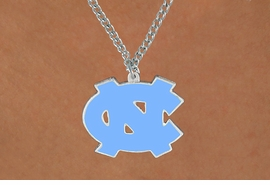 <Br>               LEAD & NICKEL FREE!!<Br>    OFFICIAL COLLEGE LICENSED!!!<Br>W15686N - UNIVERSITY OF NORTH<Br>       CAROLINA CHAIN NECKLACE<Br>             FROM $4.50 TO $10.00