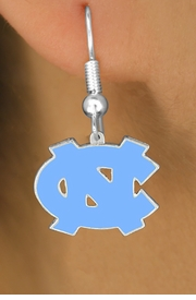 <Br>              LEAD & NICKEL FREE!!<Br>   OFFICIAL COLLEGE LICENSED!!!<bR>W15687E - UNIVERSITY OF NORTH<Br>       CAROLINA EARRINGS FROM<bR>                   $5.06 TO $11.25