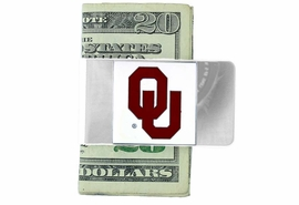 <Br>                     LEAD & NICKEL FREE!<Br>           OFFICIAL COLLEGE LICENSED!!<Br>W15893MC - UNIVERSITY OF OKLAHOMA<Br>                  SOONERS MONEY CLIP<Br>                  FROM $6.75 TO $15.00