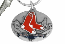 <bR>             LEAD & NICKEL FREE!!!<br>         OFFICIAL MLB LICENSED!!<br>       MAJOR LEAGUE BASEBALL!!<Br>   W16735KC - BOSTON RED SOX<BR>              KEY CHAIN FROM $2.99