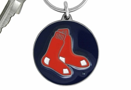 <bR>             LEAD & NICKEL FREE!!!<br>         OFFICIAL MLB LICENSED!!<br>       MAJOR LEAGUE BASEBALL!!<Br>   W16736KC - BOSTON RED SOX<BR               >KEY CHAIN FROM $2.99
