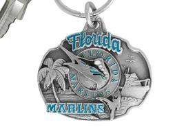<bR>              LEAD & NICKEL FREE!!!<br>          OFFICIAL MLB LICENSED!!<br>        MAJOR LEAGUE BASEBALL!!<Br>W16737KC - FLORIDA MARLINS KEY<BR>                      CHAIN FROM $2.99