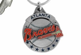 <bR>            LEAD & NICKEL FREE!!!<br>         OFFICIAL MLB LICENSED!!<br>       MAJOR LEAGUE BASEBALL!!<Br>   W16749KC - ATLANTA BRAVES<BR>               KEY CHAIN FROM $2.99