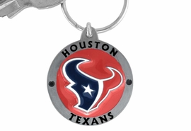 <bR>          LEAD & NICKEL FREE!!!<br>       OFFICIAL NFL LICENSED!!<br>NATIONAL FOOTBALL LEAGUE!!<Br>W15121KC - HOUSTON TEXANS<BR>   KEY CHAIN AS LOW AS $6.35