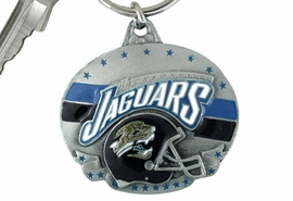<bR>                LEAD & NICKEL FREE!!!<br>             OFFICIAL NFL LICENSED!!<br>       NATIONAL FOOTBALL LEAGUE!!<Br>W15652KC - JACKSONVILLE JAGUARS<BR>                   KEY CHAIN FROM $2.99