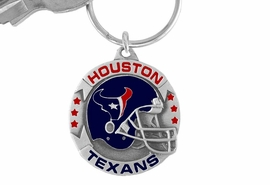 <bR>             LEAD & NICKEL FREE!!!<br>          OFFICIAL NFL LICENSED!!<br>   NATIONAL FOOTBALL LEAGUE!!<Br>   W15703KC - HOUSTON TEXANS<BR>KEY CHAIN FROM $5.06 TO $11.25