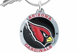 <bR>            LEAD & NICKEL FREE!!!<br>         OFFICIAL NFL LICENSED!!<br>   NATIONAL FOOTBALL LEAGUE!!<Br>W16710KC - ARIZONA CARDINALS<BR>            KEY CHAIN FROM $2.99