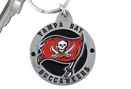 <bR>            LEAD & NICKEL FREE!!!<br>         OFFICIAL NFL LICENSED!!<br>   NATIONAL FOOTBALL LEAGUE!! <Br>W19614KC - TAMPA BAY BUCCANEERS<BR>KEY CHAIN FROM $2.99