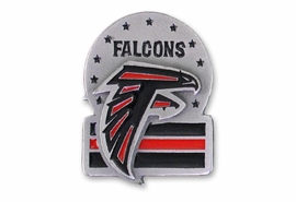 <br>          LEAD & NICKEL FREE!!<Br>     OFFICIAL (NFL) LICENSED!!<Br>NATIONAL FOOTBALL LEAGUE!!<Br>W19715P - ATLANTA FALCONS <Br> NFL PIN FROM $1.99