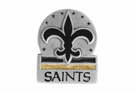 <br>            LEAD & NICKEL FREE!!<Br>         OFFICIAL NFL LICENSED!!<Br>W16659P - NEW ORLEANS SAINTS<Br>         PIN FROM $3.94 TO $8.75