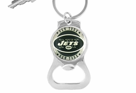 <Br>         LEAD & NICKEL FREE!!<BR>     OFFICIAL NFL LICENSED!!<Br> W16694KC - NEW YORK JETS<Br>KEY CHAIN & BOTTLE OPENER<Br>                       FROM $1.99