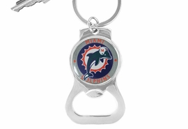 <Br>          LEAD & NICKEL FREE!!<BR>      OFFICIAL NFL LICENSED!!<Br>W16706KC - MIAMI DOLPHINS<Br> KEY CHAIN & BOTTLE OPENER<Br>                         FROM $1.99