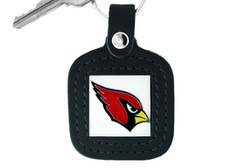 <Br>              LEAD & NICKEL FREE!!<BR>          OFFICIAL NFL LICENSED!!<Br> W16709KC - ARIZONA CARDINALS<Br>GENUINE BLACK LEATHER FRAMED<Br>                KEY CHAIN FROM $2.99