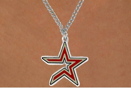 <Br>              LEAD & NICKEL FREE!!<Br>             OFFICIALLY LICENSED!!<Br>MAJOR LEAGUE BASEBALL LOGOS!!<Br>     W14837N - HOUSTON ASTROS<Br>            CHAIN LOGO NECKLACE<br>                   AS LOW AS $6.30