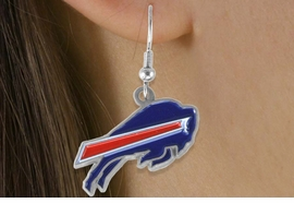 <bR>             LEAD & NICKEL FREE!!<Br>            OFFICIALLY LICENSED!!<Br>   NATIONAL FOOTBALL LEAGUE!!<Br>       W14865E - BUFFALO BILLS<Br>LOGO EARRINGS AS LOW AS $2.99
