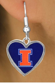 <Br>                LEAD & NICKEL FREE!!<Br>             OFFICIALLY LICENSED!!!<bR>W15004E - UNIVERSITY OF ILLINOIS<Br>         EARRINGS AS LOW AS $3.65