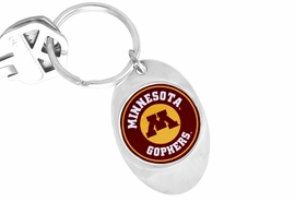 "<Br>                     LEAD & NICKEL FREE!!<Br>                   OFFICIALLY LICENSED!!!<bR>W15018KC - UNIVERSITY OF MINNESOTA<Br>   ""GOLDEN GOPHERS"" LOGO KEY CHAIN<BR>                                         AS LOW AS $1.99"