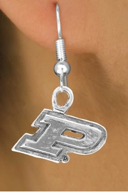 "<Br>             LEAD & NICKEL FREE!!<Br>          OFFICIALLY LICENSED!!!<bR>W15052E - PURDUE UNIVERSITY<Br>    ""BOILERMAKERS"" EARRINGS<BR>                 AS LOW AS $3.65"