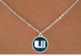 <Br>                 LEAD & NICKEL FREE!!<Br>               OFFICIALLY LICENSED!!<bR>W15221N - UTAH STATE UNIVERSITY<Br>AGGIES NECKLACE  FROM $3.94 TO $8.75
