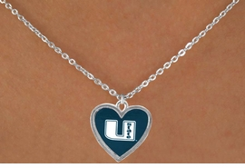 <Br>                 LEAD & NICKEL FREE!!<Br>               OFFICIALLY LICENSED!!<bR>W15224N - UTAH STATE UNIVERSITY<Br> AGGIES NECKLACE  FROM $3.94 TO $8.75