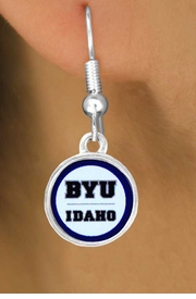 <Br>            LEAD & NICKEL FREE!!<Br>         OFFICIALLY LICENSED!!!<bR>   W15228E - BRIGHAM YOUNG<Br>UNIVERSITY VIKINGS EARRINGS<bR>                 FROM $3.94 TO $8.75