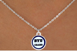 <Br>            LEAD & NICKEL FREE!!<Br>          OFFICIALLY LICENSED!!<bR>   W15229N - BRIGHAM YOUNG<Br>UNIVERSITY VIKINGS NECKLACE<bR>                 FROM $3.94 TO $8.75