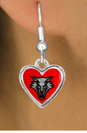 <Br>                    LEAD & NICKEL FREE!!<Br>                  OFFICIALLY LICENSED!!!<bR>W15286E - UNIVERSITY OF NEW MEXICO<Br> LOBOS EARRINGS FROM $3.94 TO $8.75