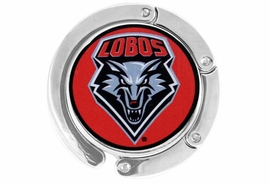 <BR>            LEAD & NICKEL FREE!!<br>          OFFICIALLY LICENSED!!<br>     W15627BH - UNIVERSITY OF<BR>       NEW MEXICO LOBOS LOGO<br>            PURSE HOLDER FROM<Br>                   $6.75 TO $15.00