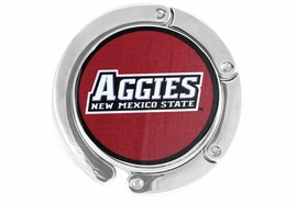 <BR>             LEAD & NICKEL FREE!!<br>           OFFICIALLY LICENSED!!<br>W15629BH - NEW MEXICO STATE<Br>        UNIVERSITY AGGIES LOGO<br>            PURSE HOLDER FROM<Br>                   $6.75 TO $15.00