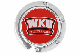 <BR>                  LEAD & NICKEL FREE!!<br>                OFFICIALLY LICENSED!!<br>     W17193BH - WESTERN KENTUCKY <Br>                UNIVERSITY LOGO PURSE <BR>        HOLDER FROM $6.75 TO $15.00