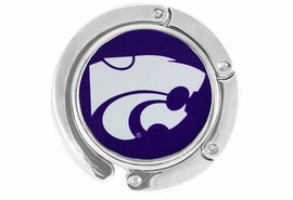 "<BR>                    LEAD & NICKEL FREE!!<br>                   OFFICIALLY LICENSED!!<br>W17781BH - KANSAS STATE UNIVERSITY<Br>     ""WILDCATS""  LOGO PURSE HOLDER<Br>                   FROM $6.75 TO $15.00"