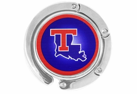 "<BR>                       LEAD & NICKEL FREE!!<br>                     OFFICIALLY LICENSED!!<br>W17784BH - LOUISIANA TECH UNIVERSITY<Br>       ""BULLDOGS"" LOGO PURSE HOLDER<Br>                     FROM $6.75 TO $15.00"