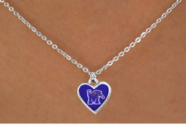"""<Br>            LEAD & NICKEL FREE!!<Br>       STERLING SILVER PLATED!!<bR>W13788N - LICENSED UNIVERSITY<Br>     OF MEMPHIS """"TIGERS"""" LOGO<Br>       NECKLACE AS LOW AS $3.65"""