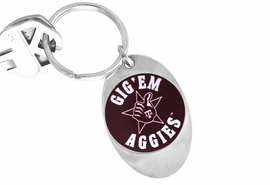 "<Br>             LEAD & NICKEL FREE!!<Br>        STERLING SILVER PLATED!!<bR>    W13848KC - LICENSED TEXAS<Br>A&M UNIVERSITY ""AGGIES"" LOGO<Br>      KEY CHAIN AS LOW AS $1.99"