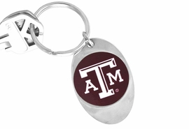 "<Br>              LEAD & NICKEL FREE!!<Br>        STERLING SILVER PLATED!!<bR>    W13849KC - LICENSED TEXAS<Br>A&M UNIVERSITY ""AGGIES"" LOGO<Br>      KEY CHAIN AS LOW AS $1.99"