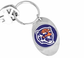 "<Br>                LEAD & NICKEL FREE!!<Br>          STERLING SILVER PLATED!!<bR> W13882KC - LICENSED UNIVERSITY<Br>       OF MEMPHIS ""TIGERS"" LOGO<Br>        KEY CHAIN AS LOW AS $1.99"