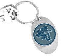 "<Br>             LEAD & NICKEL FREE!!<Br>        STERLING SILVER PLATED!!<bR>  W14012KC - LICENSED JACKSON<br>STATE UNIVERSITY ""TIGERS"" LOGO<Br>      KEY CHAIN AS LOW AS $1.99"