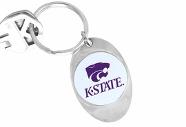 "<Br>              LEAD & NICKEL FREE!!<Br>        STERLING SILVER PLATED!!<bR>   W14195KC - LICENSED KANSAS<Br>   STATE UNIVERSITY ""WILDCATS""<Br>LOGO KEY CHAIN AS LOW AS $1.99"