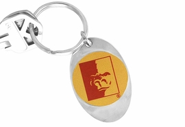 "<Br>              LEAD & NICKEL FREE!!<Br>        STERLING SILVER PLATED!!<bR>W14200KC - LICENSED PITTSBURG<Br>    STATE UNIVERSITY ""GORILLAS""<Br> LOGO KEY CHAIN AS LOW AS $1.99"