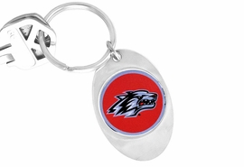 <Br>              LEAD & NICKEL FREE!!<Br>        STERLING SILVER PLATED!!<bR>W15632KC - LICENSED UNIVERSITY<Br>OF NEW MEXICO LOBOS KEY CHAIN<Br>                              FROM $1.99