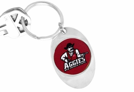 <Br>                  LEAD & NICKEL FREE!!<Br>            STERLING SILVER PLATED!!<bR>  W15817KC - LICENSED NEW MEXICO<Br>STATE UNIVERSITY AGGIES KEY CHAIN<bR>                                 FROM $1.99