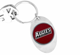 <Br>                  LEAD & NICKEL FREE!!<Br>            STERLING SILVER PLATED!!<bR>  W15819KC - LICENSED NEW MEXICO<Br>STATE UNIVERSITY AGGIES KEY CHAIN<bR>                                 FROM $1.99