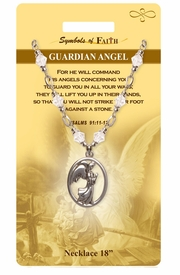 "<Br>               LEAD & NICKEL FREE!!<Br>                SYMBOLS OF FAITH!!<Br>       W15485N - ""GUARDIAN ANGEL"" <Br>         NECKLACE WITH GIFT CARD<Br>   AND ENVELOPE AS LOW AS $8.47"
